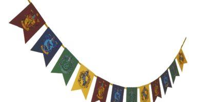 Banderines de Harry Potter