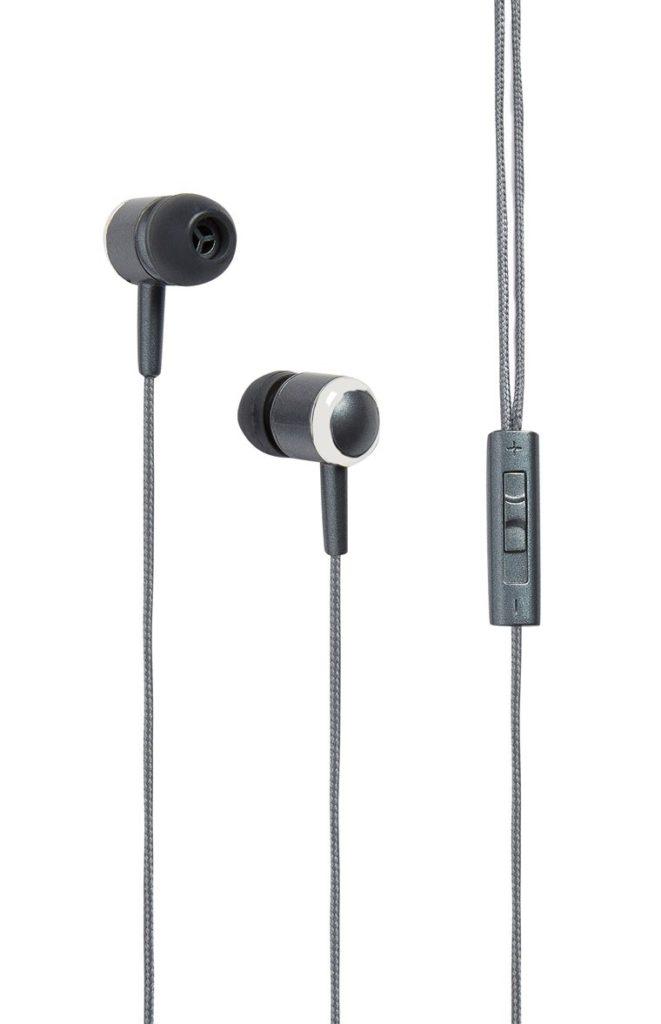 Audífonos manos libres con regulador de volumen