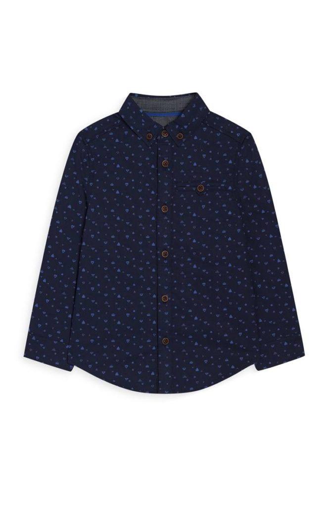 Camisa estampada niño más joven