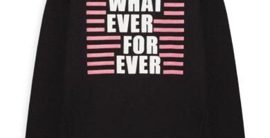 Camiseta con eslogan de niña mayor