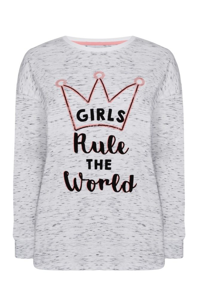 Camiseta de pijama «Nap Queen»