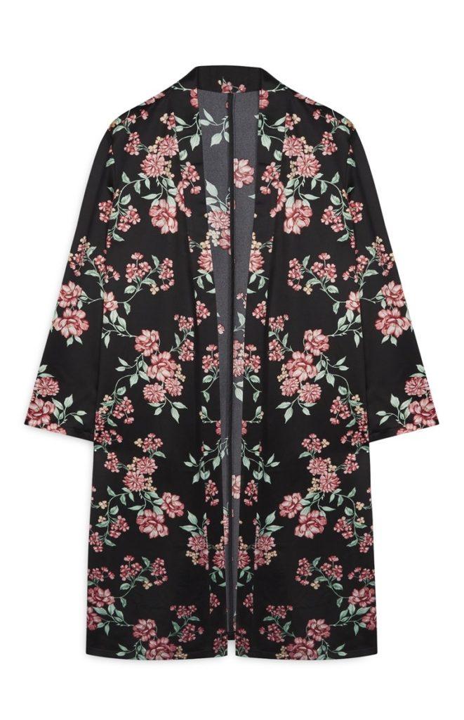Chaqueta Kimono floral