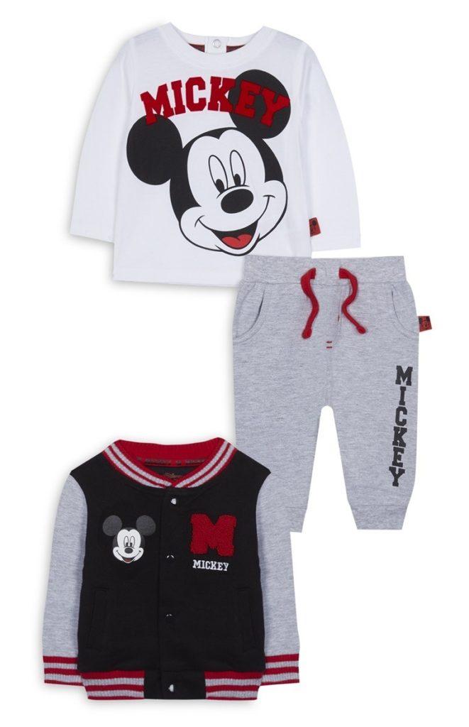Conjunto de Mickey Mouse para bebé niño