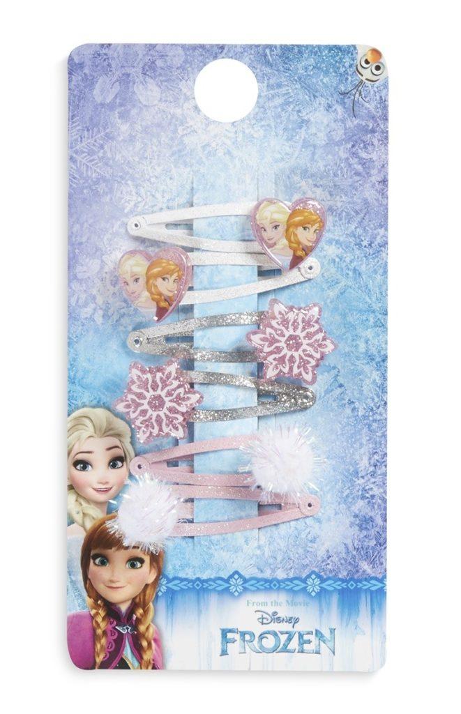 Conjunto de pinzas para el cabello de Frozen