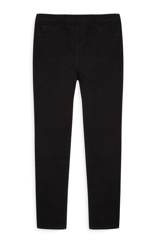 Jeggings elásticos negros