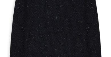Jersey de lana azul marino