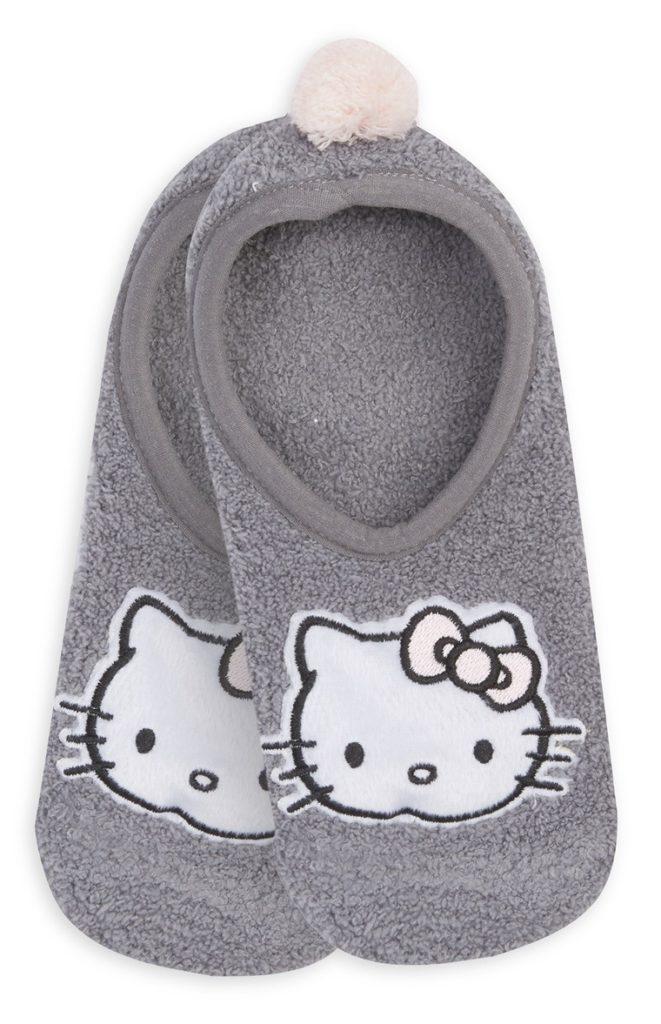 Pantuflas estilo ballet de «Hello Kitty»