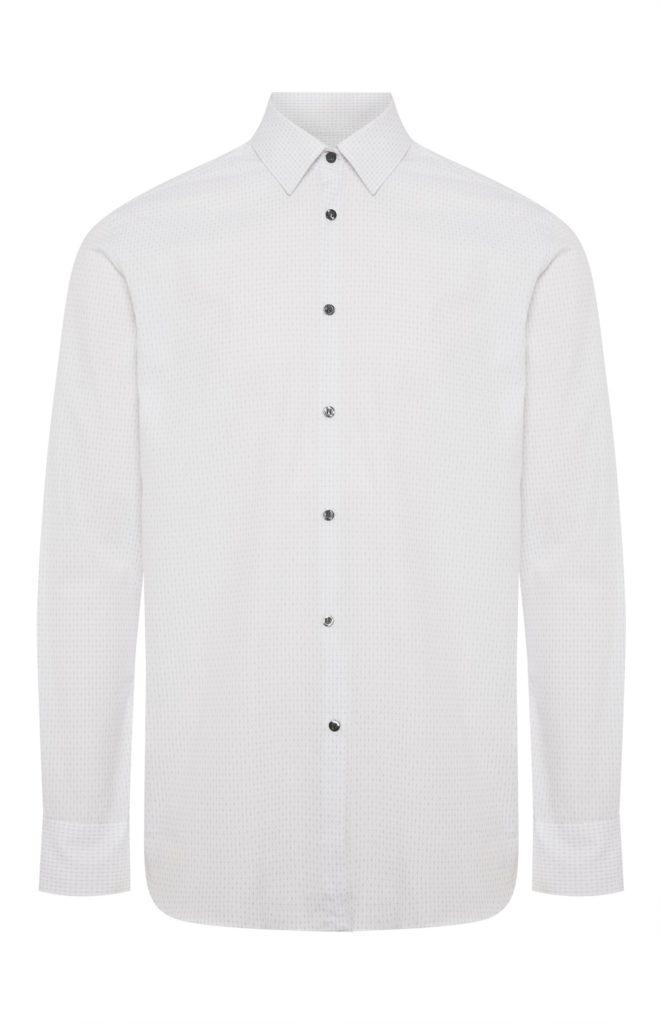 Camisa blanca con textura