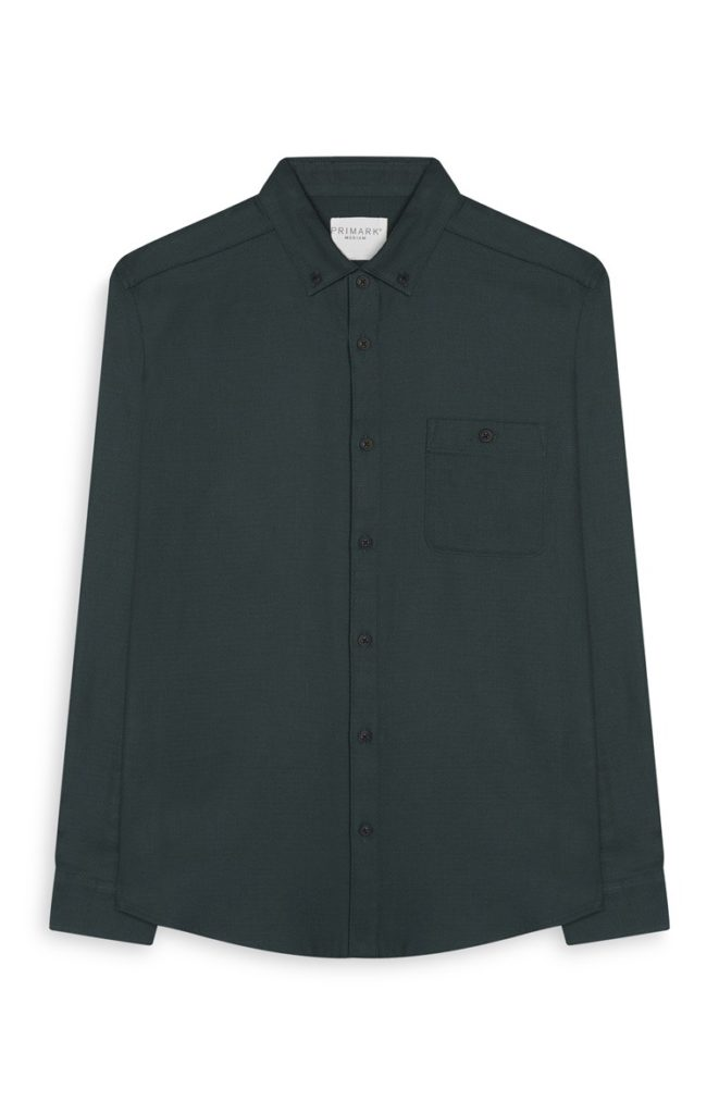 Camisa verde azulado