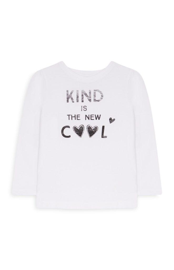 Camiseta «Cool» de bebé niña