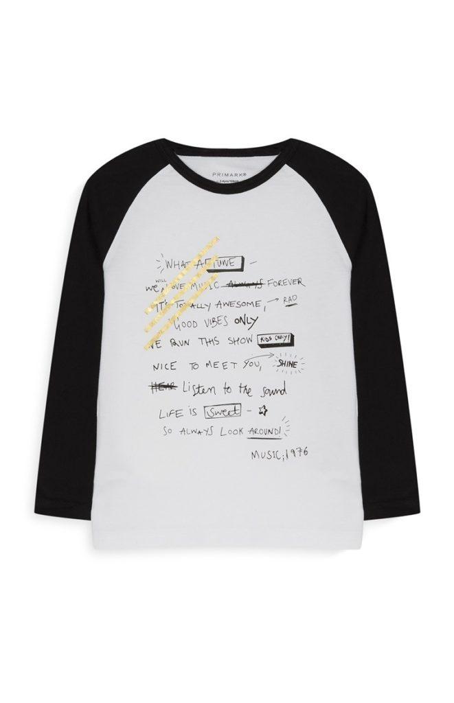 Camiseta Younger para niños