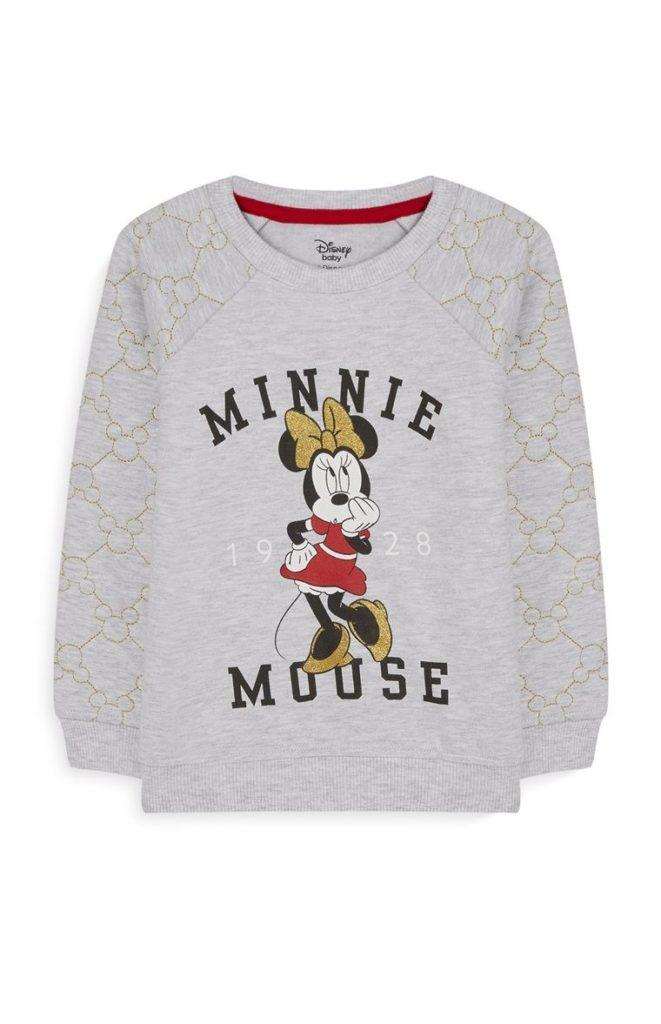 Camiseta de Minnie Mouse de bebé niña