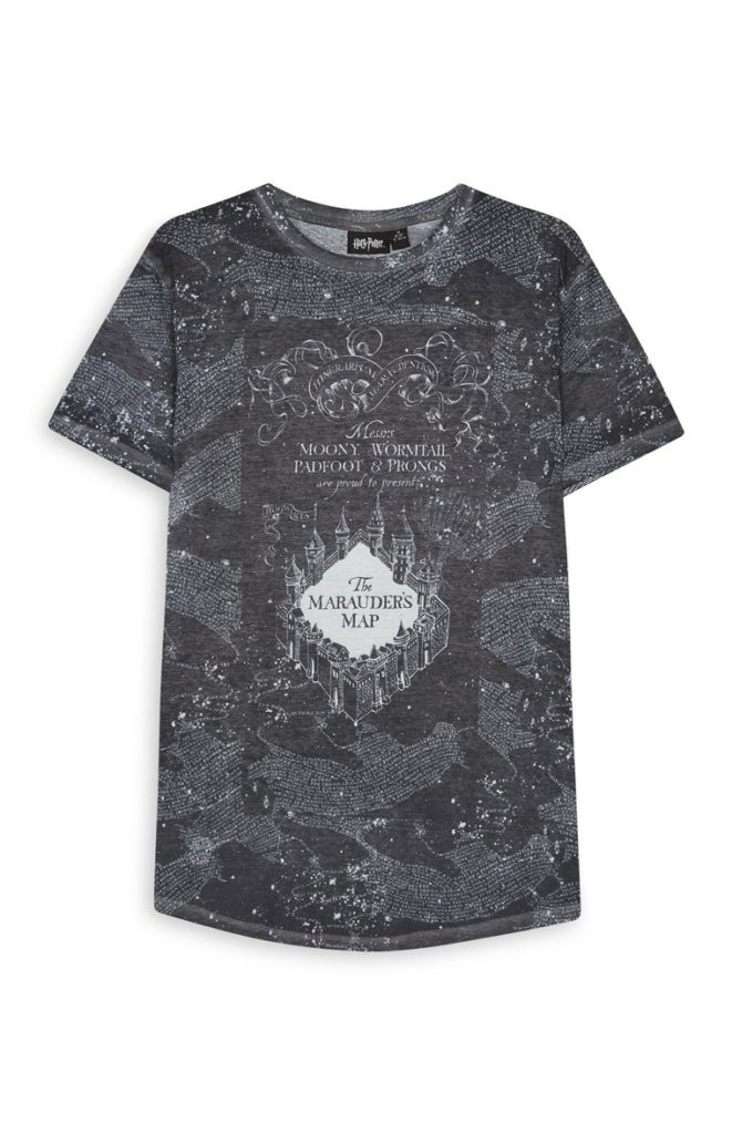 Camiseta gris de Harry Potter