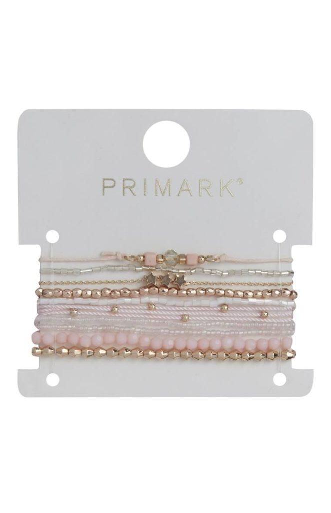 Pack de 10 pulseras de la amistad rosas
