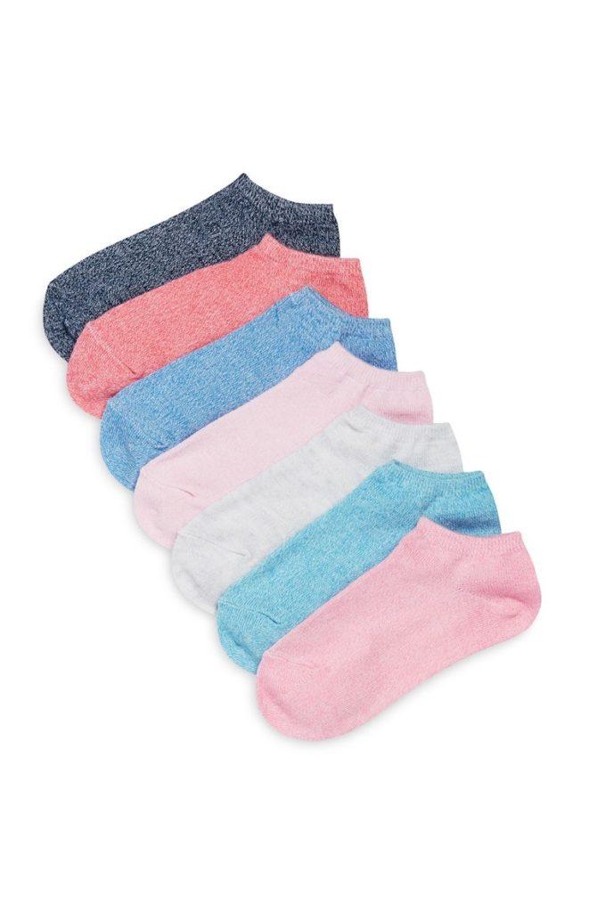 Pack de 7 pares de calcetines