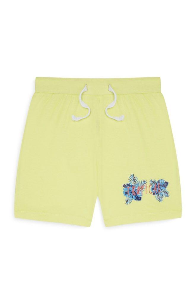 Pantalón corto lima de niño pequeño