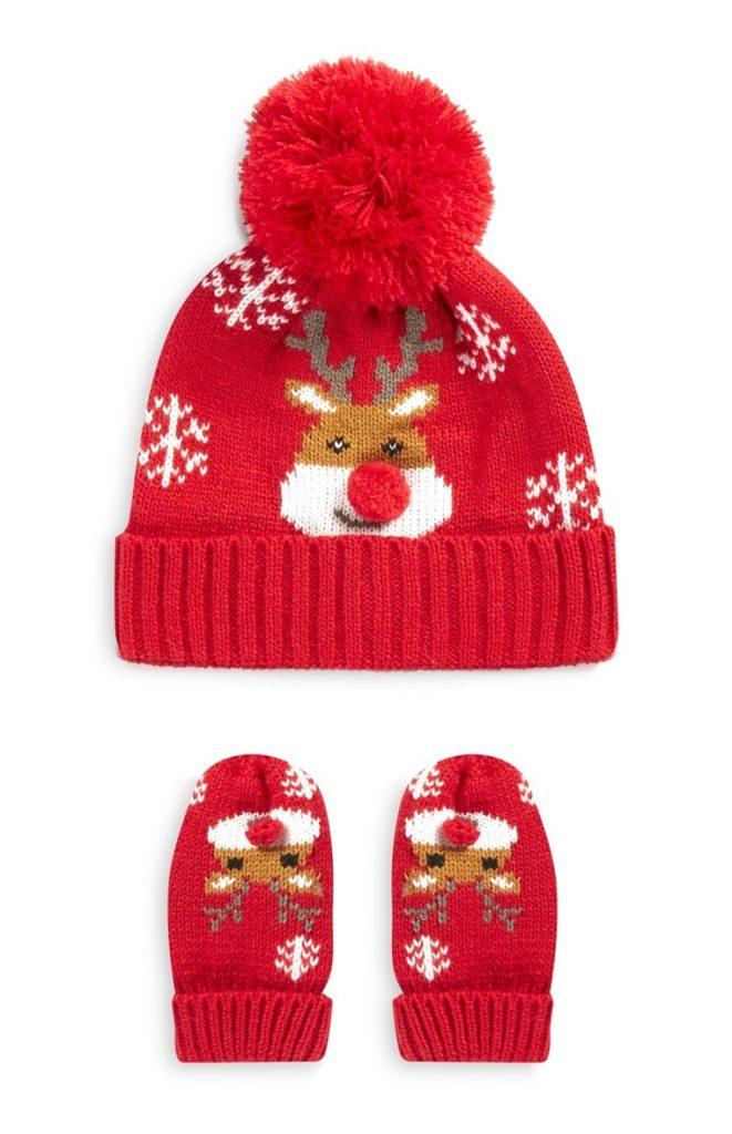 Sombrero y guantes de Navidad