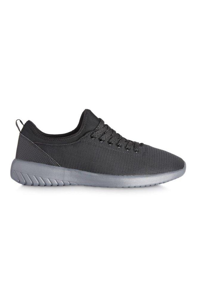 Zapatos para entrenar de malla gris