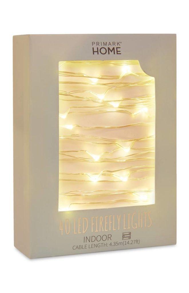 40 luces de luciérnaga