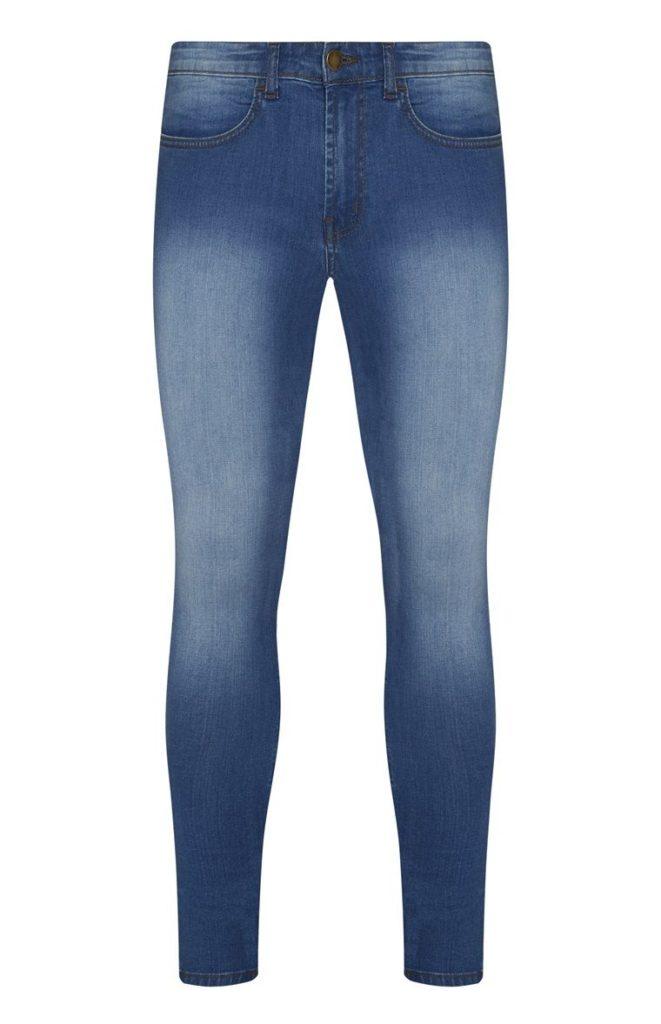 Blue Jean con efecto desgastado