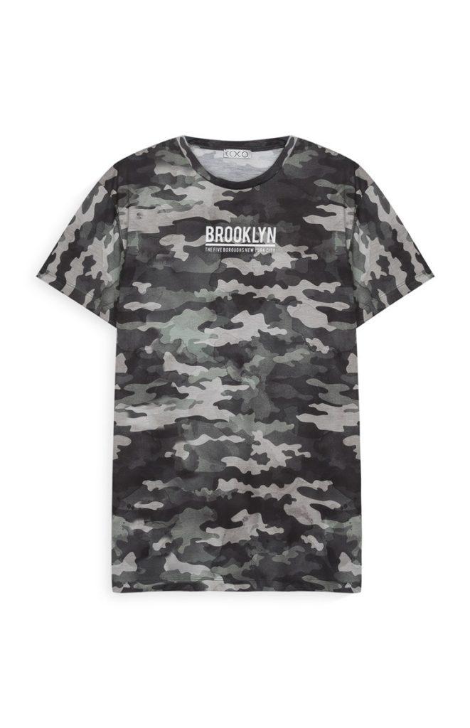 Camiseta camuflajeado Brooklyn