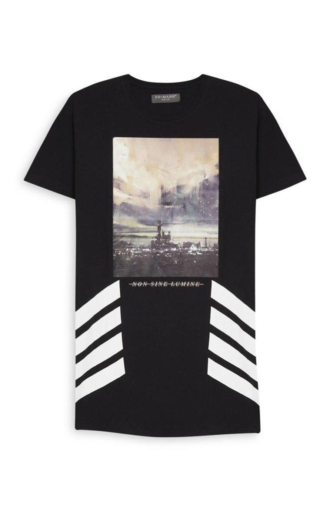 Camiseta con ciudad estampada