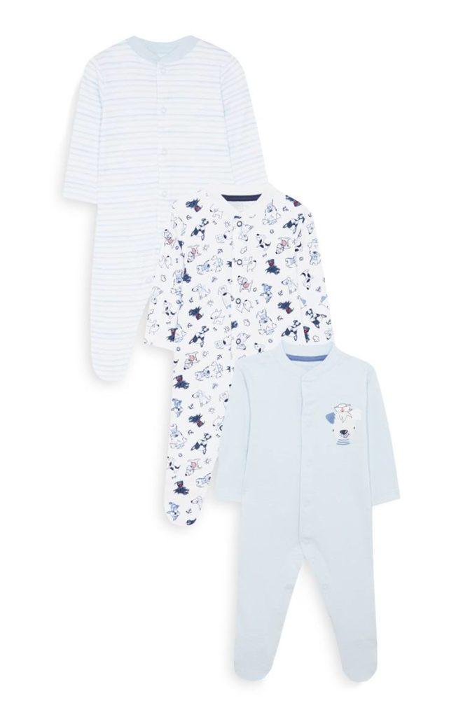 Pack de 3 pijamas infantiles