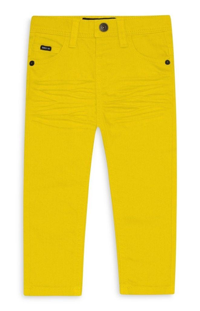 Pantalón de niño amarillo