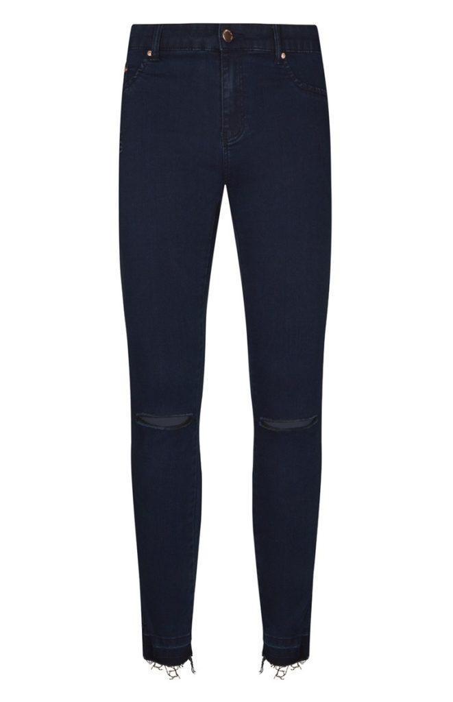 Pantalón roto azul oscuro
