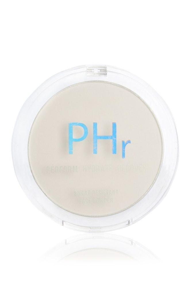 Polvo prensado resistente al sudor de PHr
