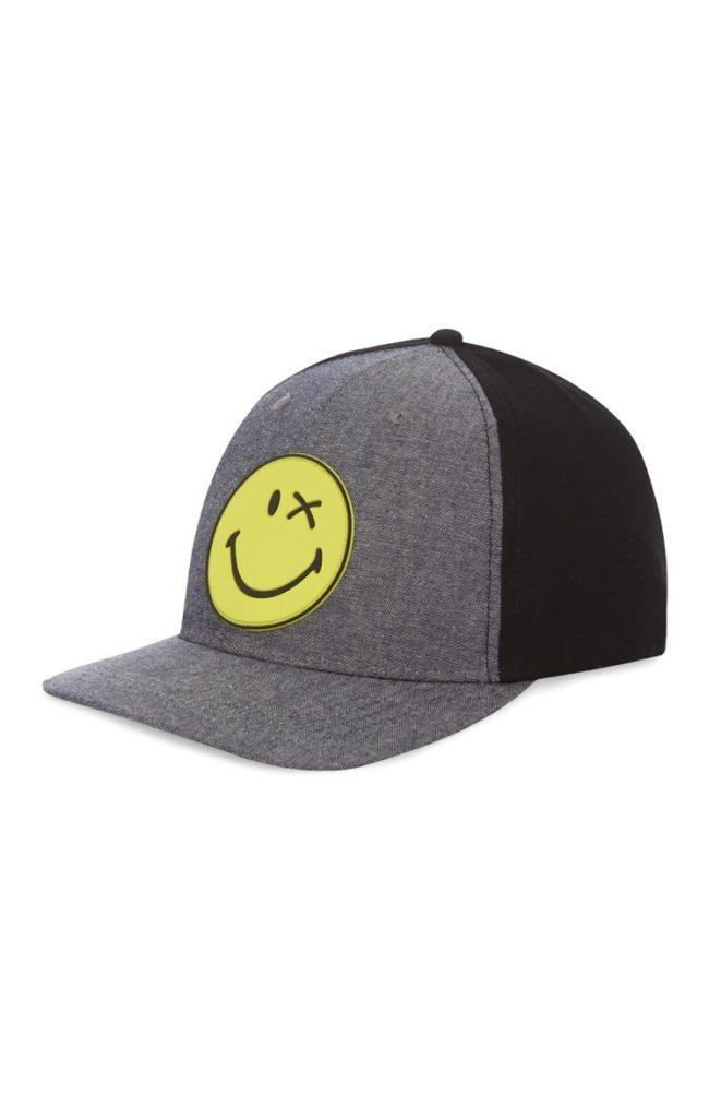 Gorra de Baseball con Sonrisa