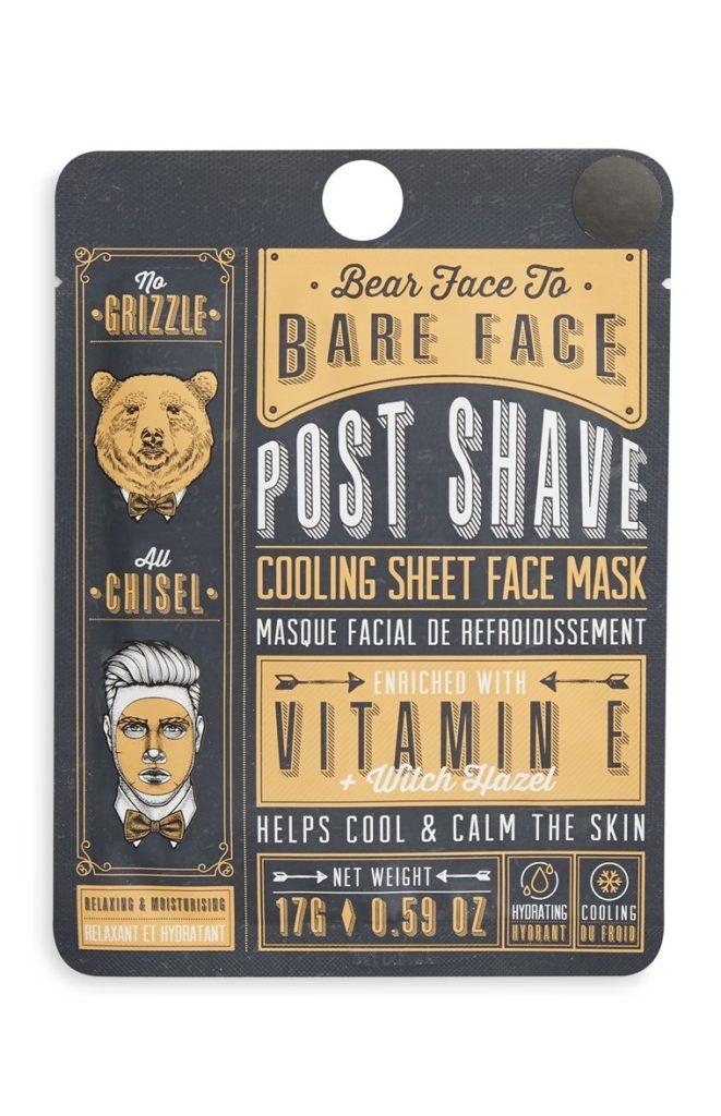 Mascarilla Facial Para Hombre