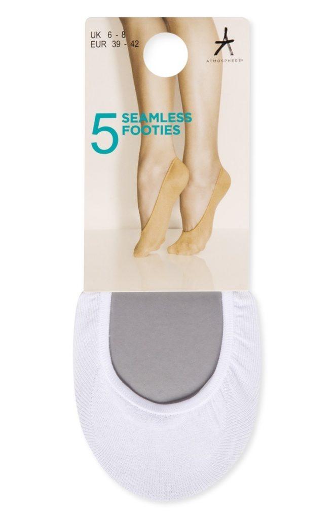 Pack de 5 Pares de Calcetines Invisibles sin Costuras