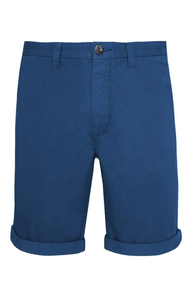 Pantalón Chino Corto Azul