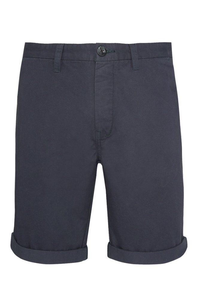 Pantalón Chino Corto Azul Oscuro