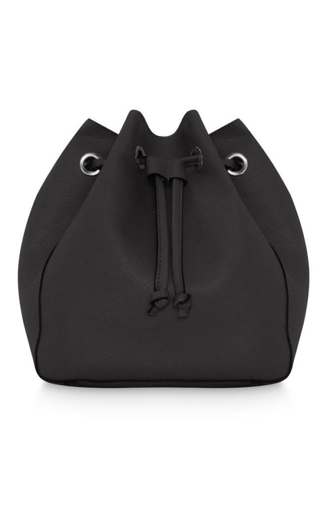 Bolso de lona negro