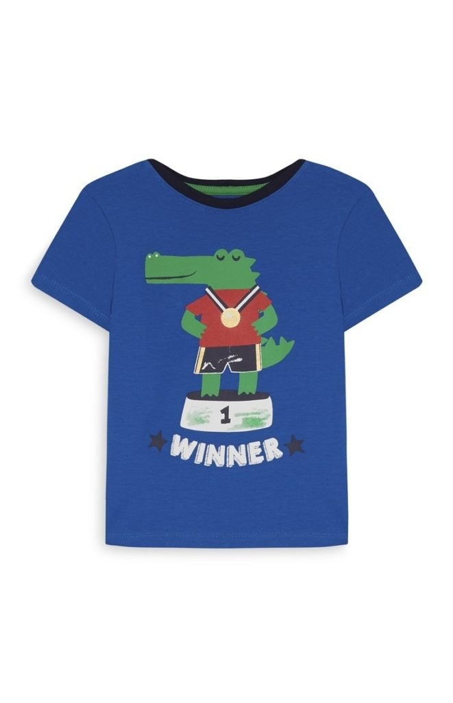 Camiseta de cocodrilo para bebé niño