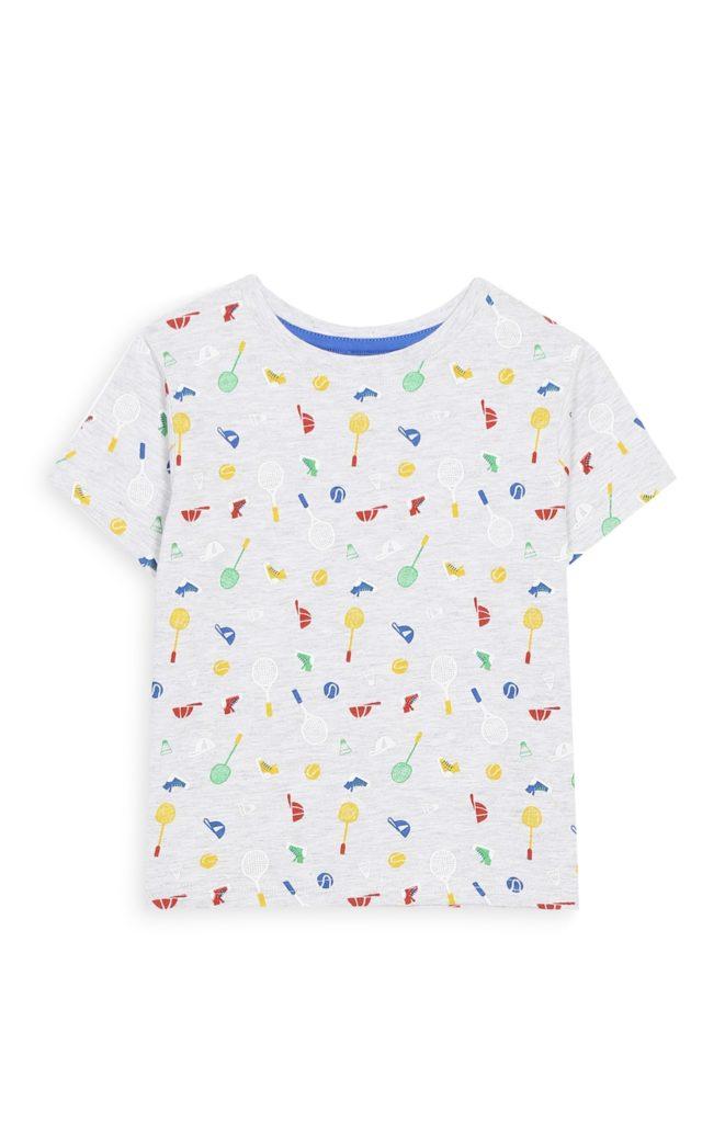 Camiseta divertida para bebé niño