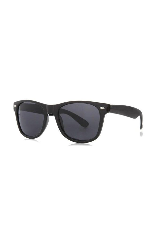 Gafas de sol cuadradas negras