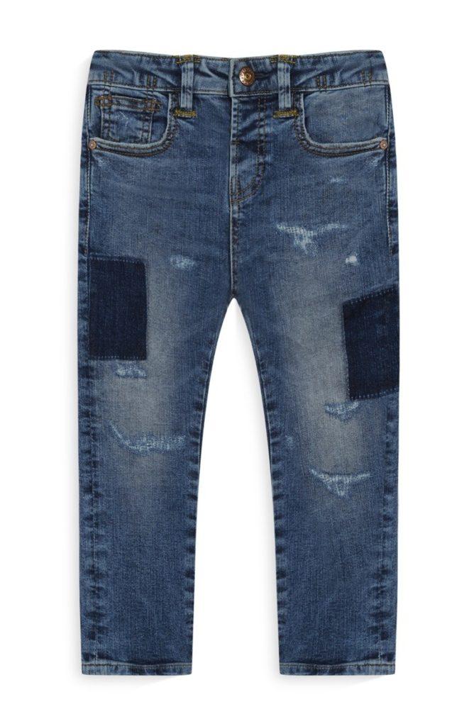Blue Jean con parchos