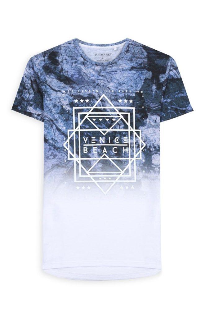 Camiseta «California» blanca