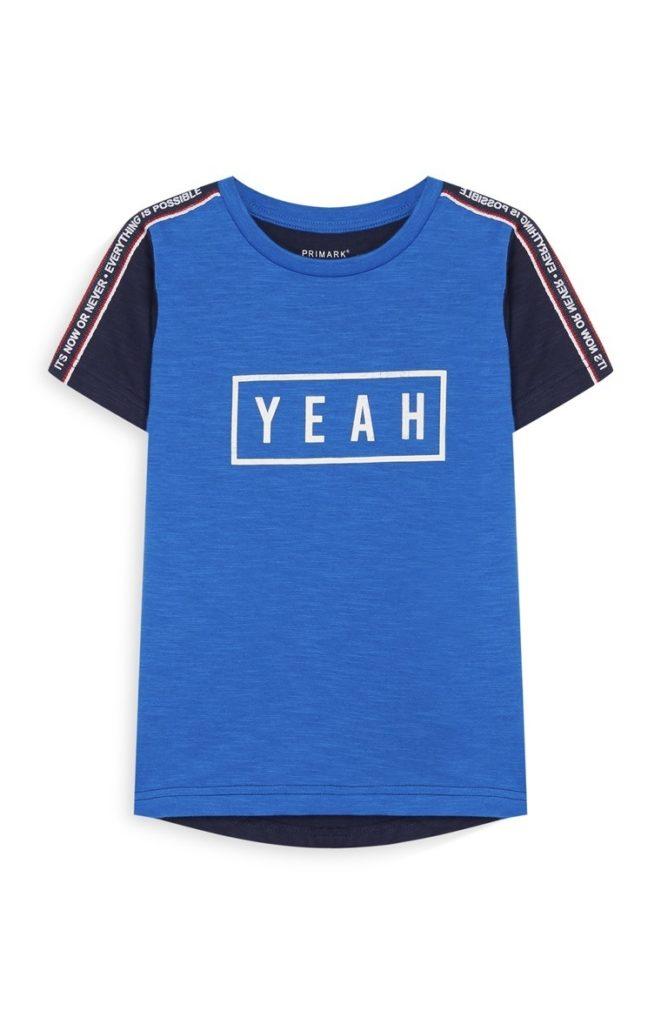 Camiseta para niño pequeño Color azul