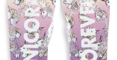 Chanclas de unicornio para niña mayor
