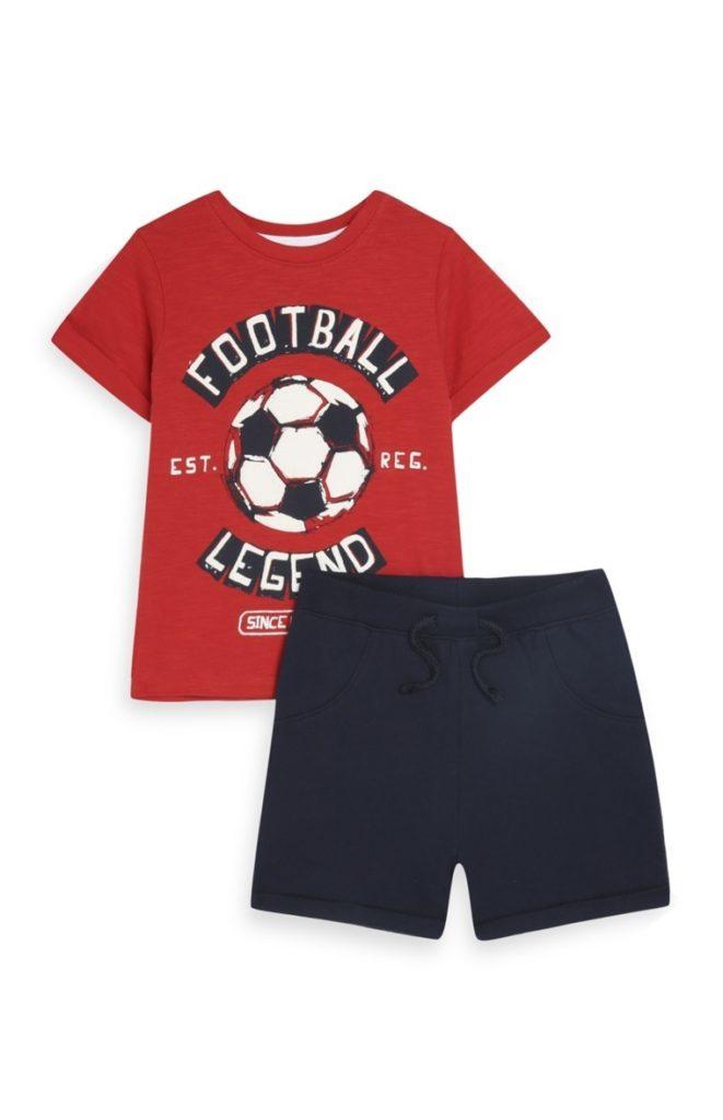 Conjunto «Football Legend» para bebé
