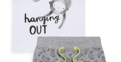 Conjunto de camiseta y pantalón de bebé