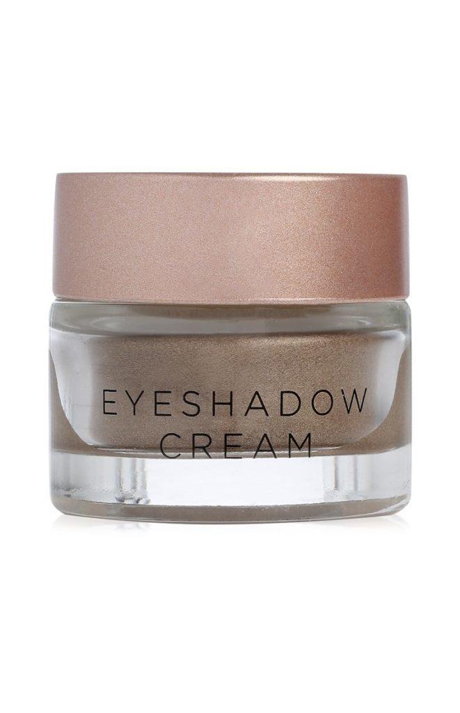 Crema para ojos metalizada marrón