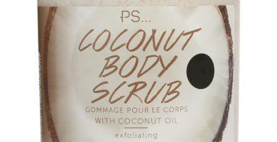 Exfoliante corporal de coco