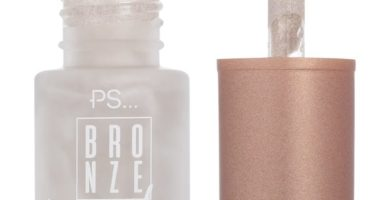 Iluminador líquido plateado Bronze