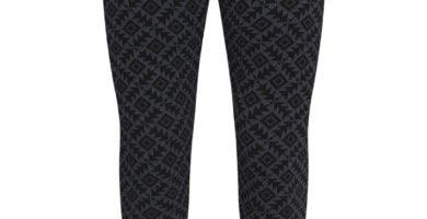 Leggings de talle alto color negro