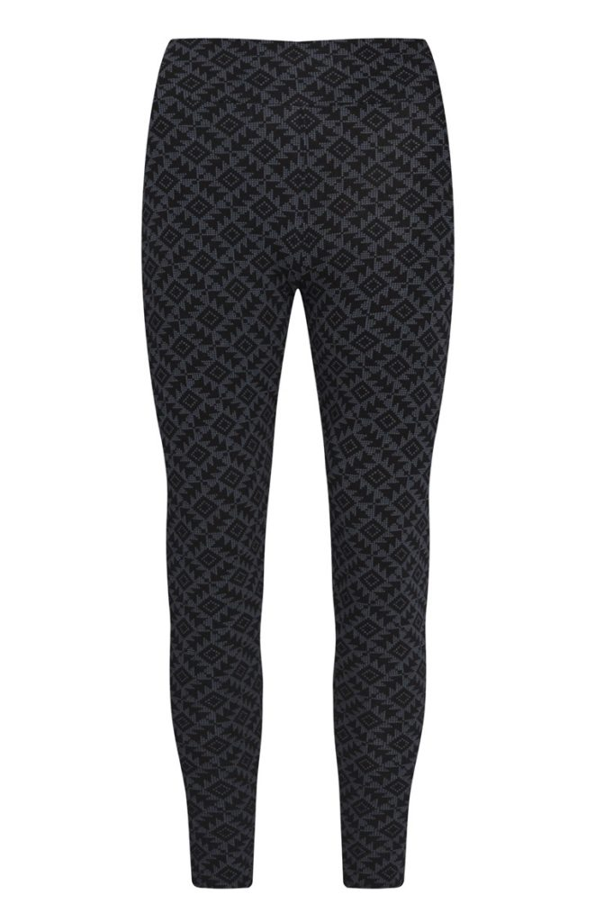 Leggings de talle alto color negro